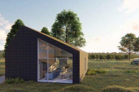 Schuurwoning Dutch Design Homes hout